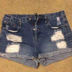 Pants - Den high waisted jeans